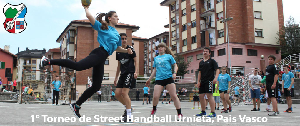 New intro video winner from 1° Torneo de Street Handball Urnieta, Pais Vasco (Basque Country)