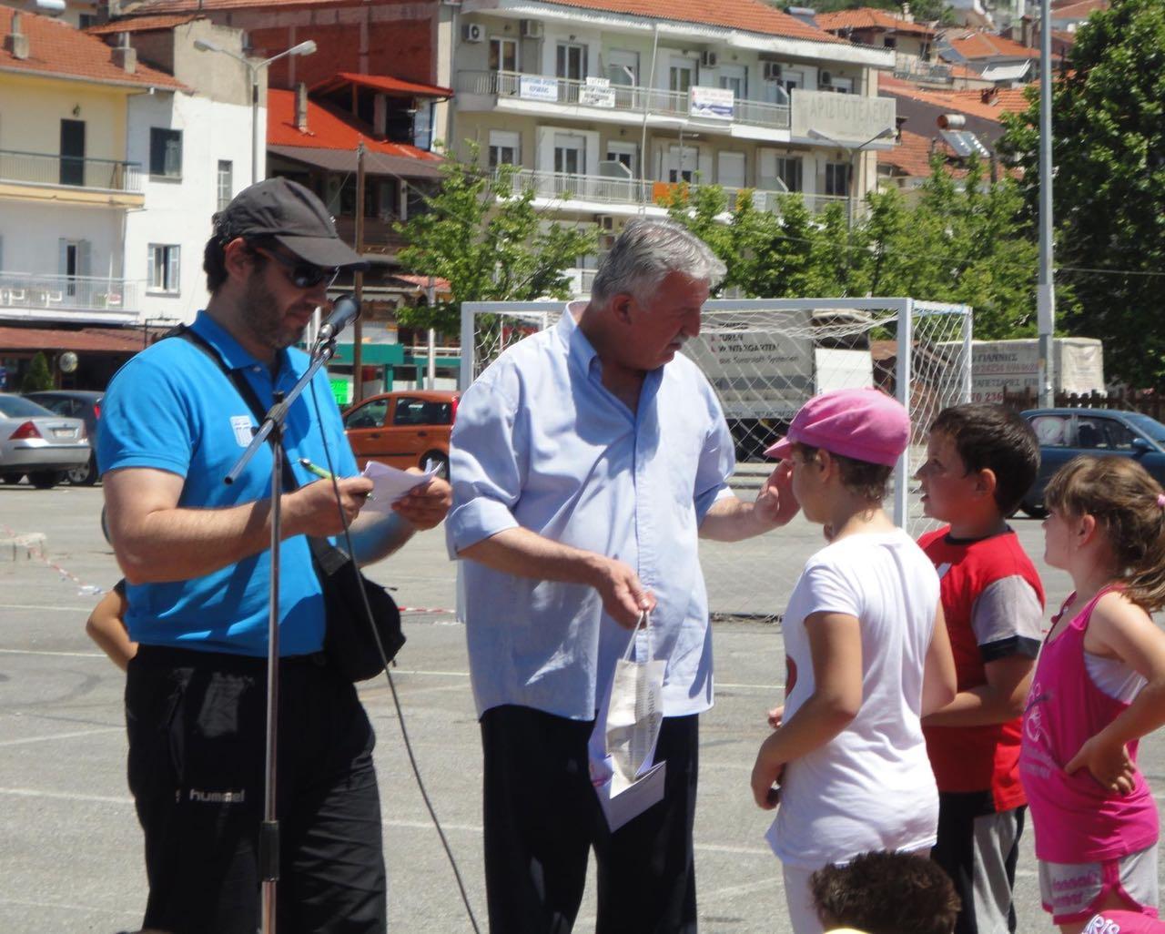 2012 Greece Street Handball Kastoria Academy with 200 children 03
