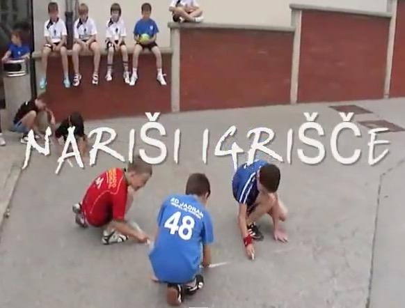 2012 Slovenia - Hrpelje - Street Handball 1 Goal 01