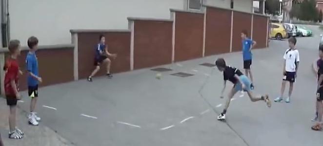 2012 Slovenia - Hrpelje - Street Handball 1 Goal 03