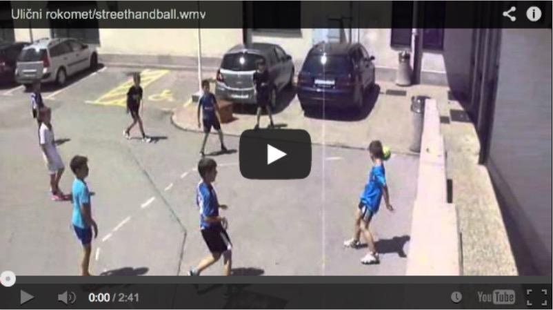 2012 Slovenia - Hrpelje - Street Handball 1 Goal 06