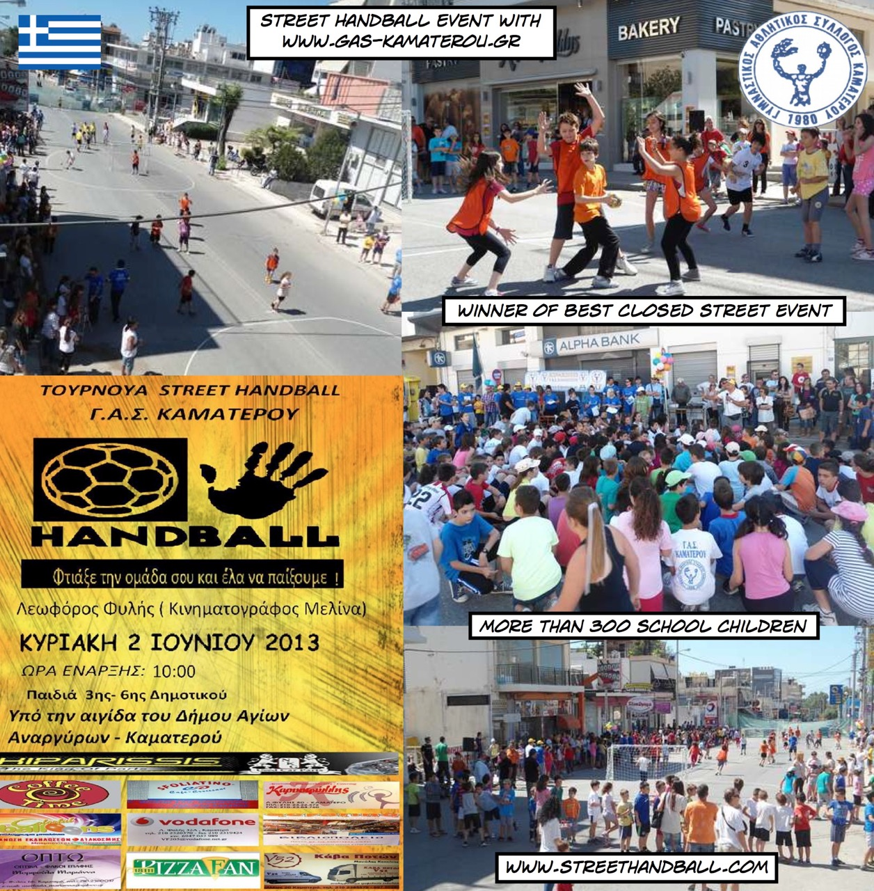 2013 Street Handball Event Greece Kamatero