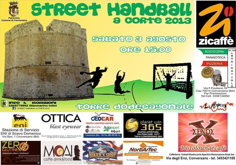 street handball conversano italy