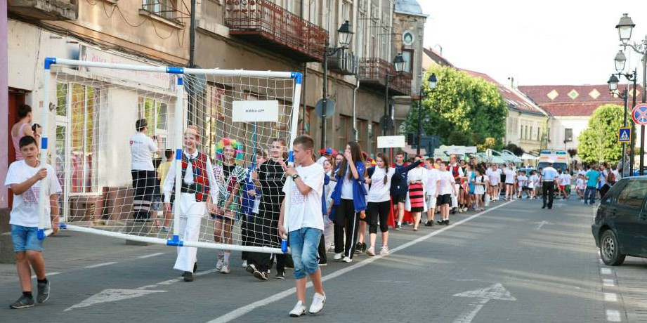 2014 Romania Baia Mare Kids Street Handball02