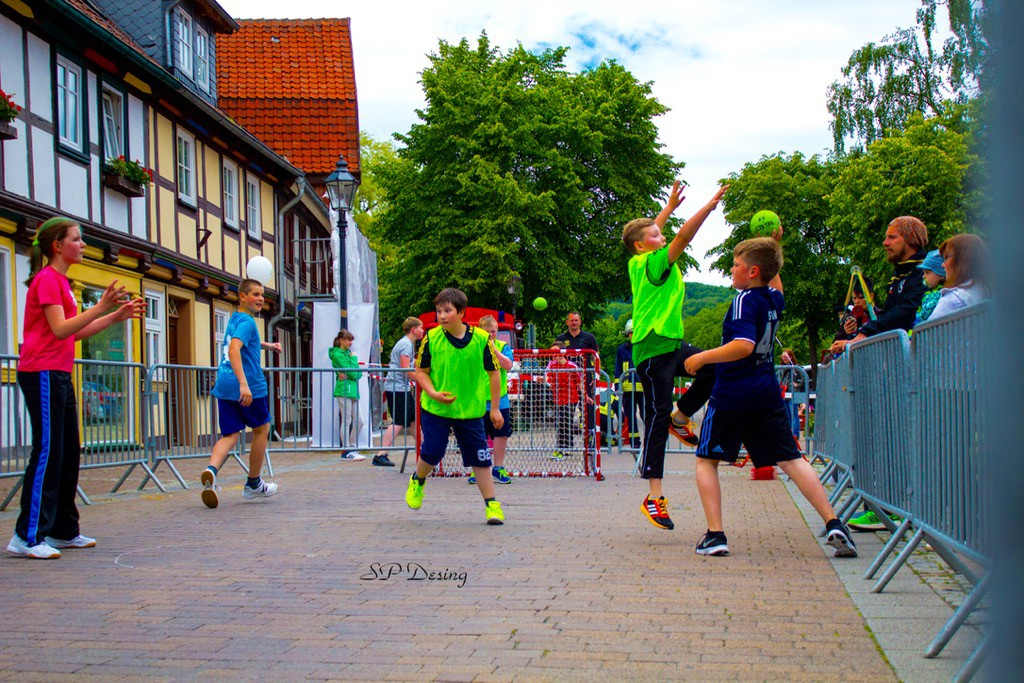 2015 Street Handball Turnier Ilsenburg Germany2