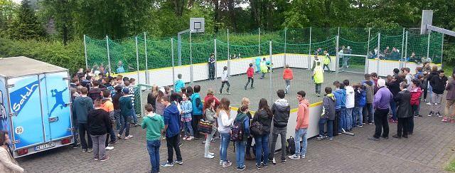 Streethandballtour 2014 » 09.05.2014 Städtische Realschule Heiligenhaus
