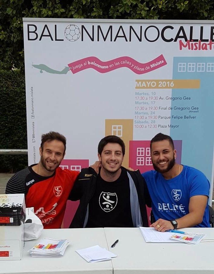 342 2016 Balonmano Calle Mislata Street Handball3